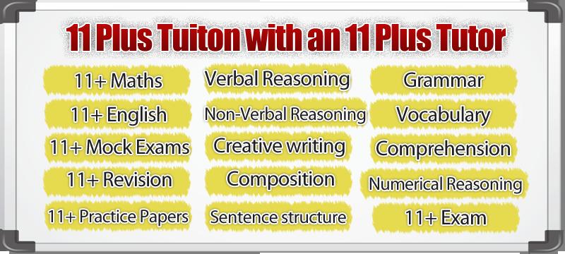 11 plus tuition